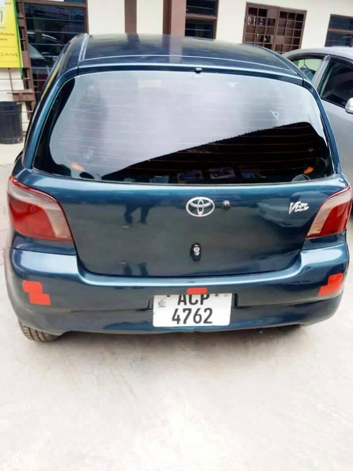 Used Toyota Vitz in Zambia