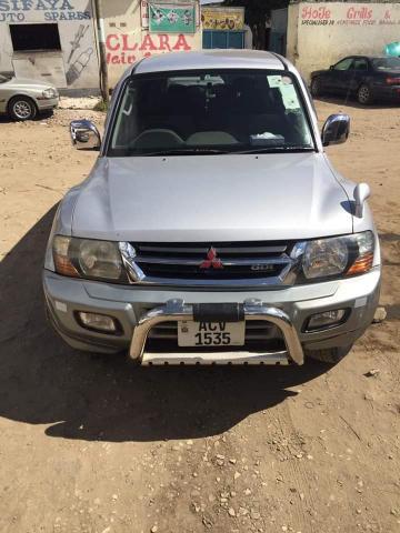 Used Mitsubishi Pajero in Zambia