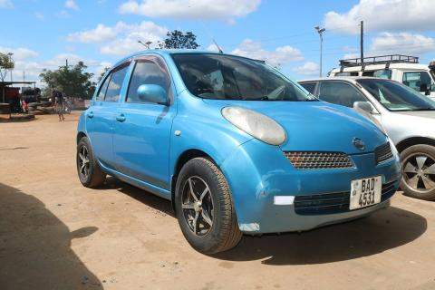 Used Nissan March in Zambia