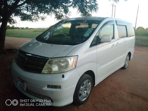 Used Toyota Alphard in Zambia
