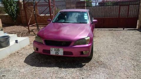 Used Toyota Altezza in Zambia