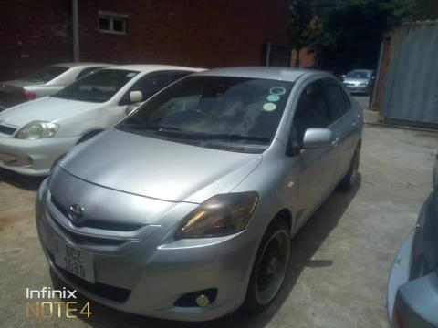Used Toyota Belta in Zambia