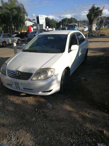 Used Toyota Corolla in Zambia
