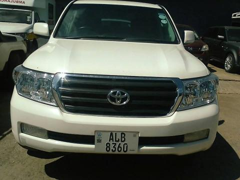 Used Toyota Land Cruiser in Zambia