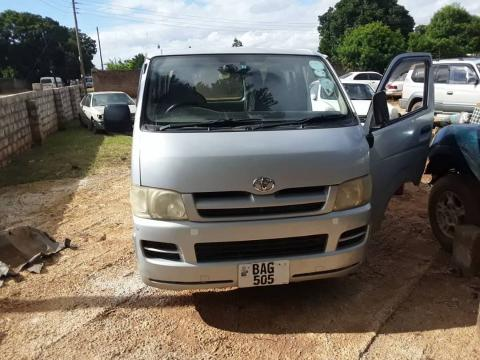 Used Toyota Quantum in Zambia