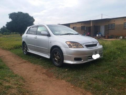Used Toyota Runx in Zambia