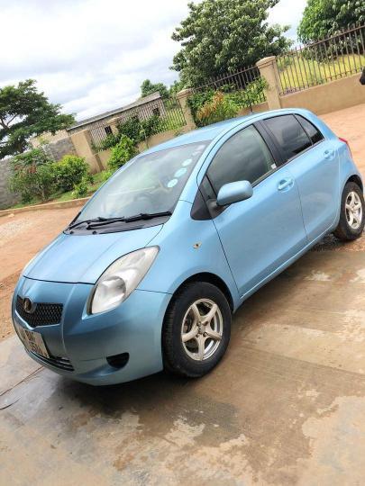 Used Toyota Vitz in Zambia