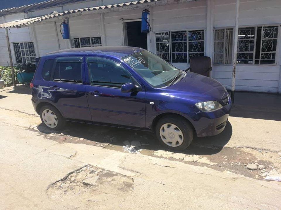 Used Mazda Demio in Zimbabwe