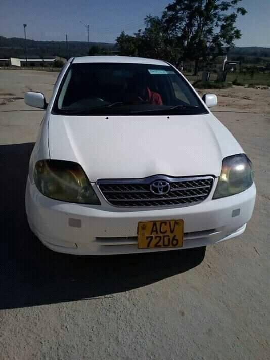 Used Toyota Runx in Zimbabwe