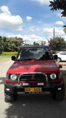 Used Mitsubishi Montero in Zimbabwe