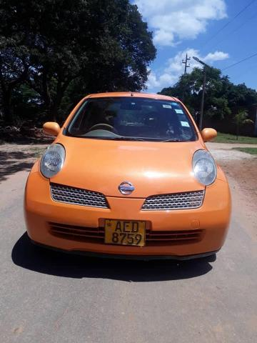 Used Nissan March in Zimbabwe