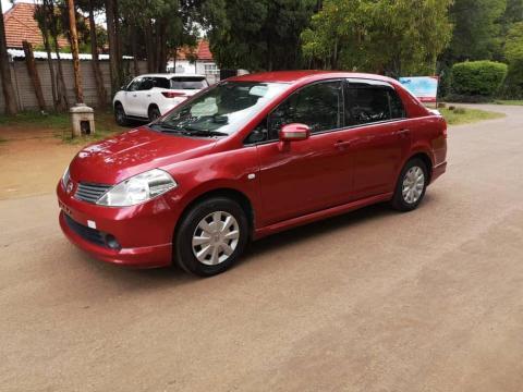 Used Nissan Tiida in Zimbabwe