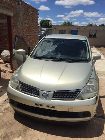 Used Nissan Tiida in Zimbabwe