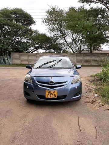 Used Toyota Belta in Zimbabwe