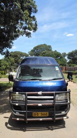 Used Toyota Hiace in Zimbabwe