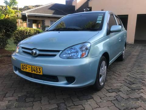 Used Toyota Platz in Zimbabwe