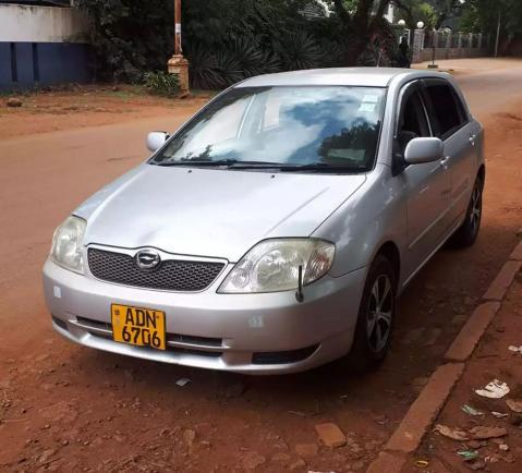 Used Toyota Runx in Zimbabwe